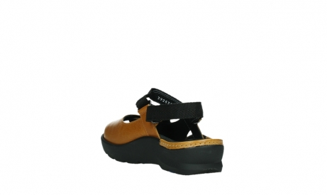 wolky sandalen 03925 lisse 35920 ocher yellow leather_17
