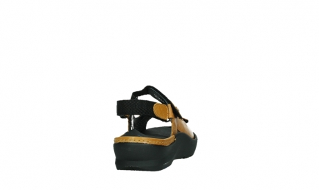 wolky sandalen 03925 lisse 35920 ocher yellow leather_20