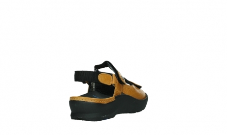 wolky sandalen 03925 lisse 35920 ocher yellow leather_21