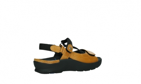 wolky sandalen 03925 lisse 35920 ocher yellow leather_23