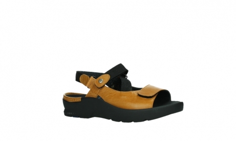 wolky sandalen 03925 lisse 35920 ocher yellow leather_3
