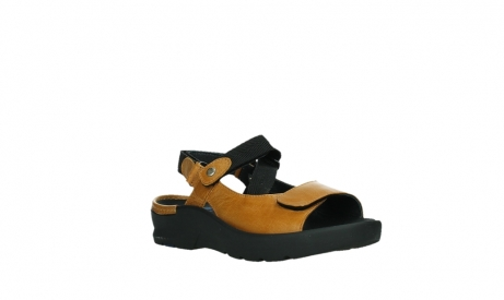wolky sandalen 03925 lisse 35920 ocher yellow leather_4