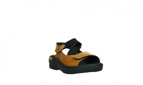 wolky sandalen 03925 lisse 35920 ocher yellow leather_5