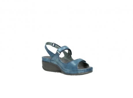 wolky sandalen 0425 shallow 681 ozean kaviarprint leder_16