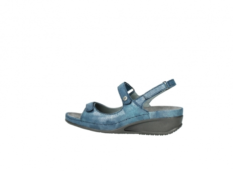 wolky sandalen 0425 shallow 681 ozean kaviarprint leder_2