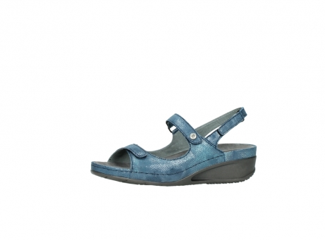 wolky sandalen 0425 shallow 681 ozean kaviarprint leder_24