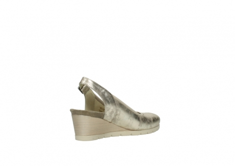 wolky sandales 04666 collins 10190 cuir champagne_10