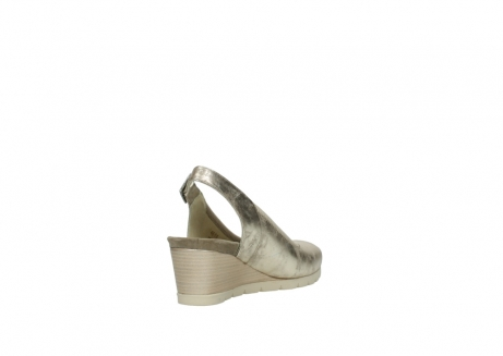 wolky sandales 04666 collins 10190 cuir champagne_9