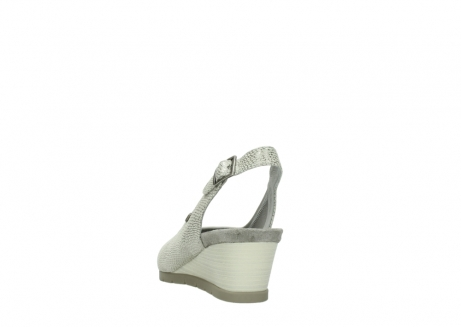 wolky sandalen 04666 collins 20120 off white silver printed leather_6