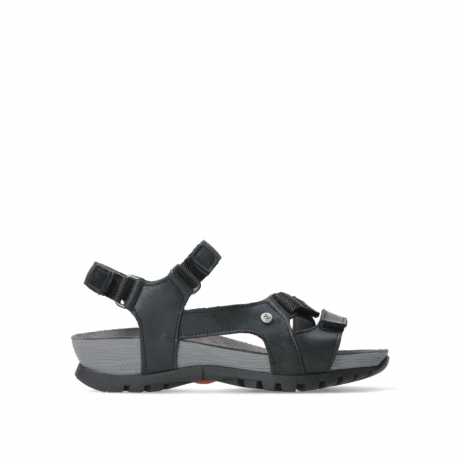 wolky sandalen 05450 cradle 30000 black leather