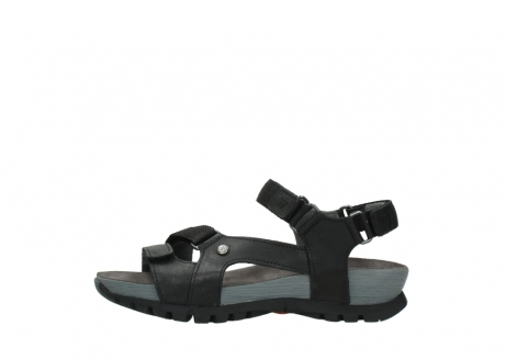 wolky sandalen 05450 cradle 50000 black greased leather_1