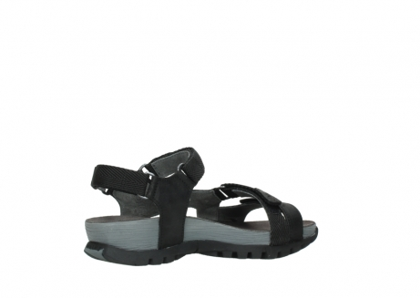 wolky sandalen 05450 cradle 50000 black greased leather_11