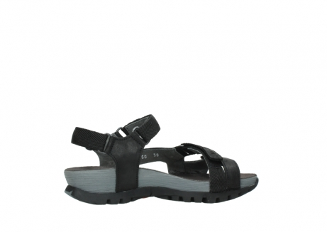 wolky sandalen 05450 cradle 50000 black greased leather_12