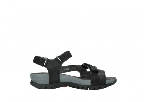 wolky sandalen 05450 cradle 50000 black greased leather_13