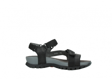 wolky sandalen 05450 cradle 50000 black greased leather_14
