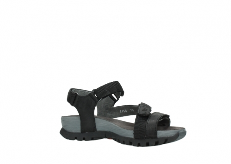 wolky sandalen 05450 cradle 50000 black greased leather_15