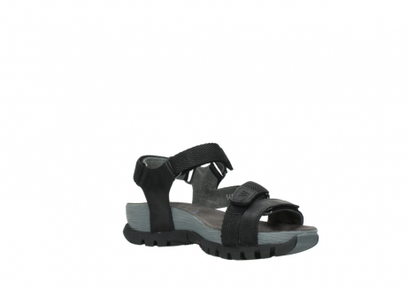 wolky sandalen 05450 cradle 50000 black greased leather_16