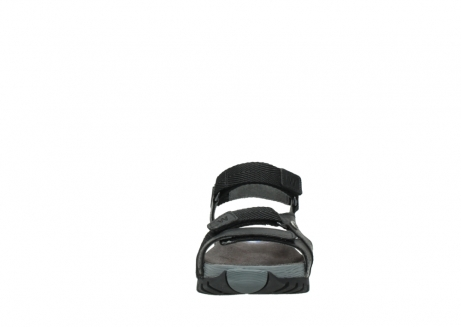 wolky sandalen 05450 cradle 50000 black greased leather_19