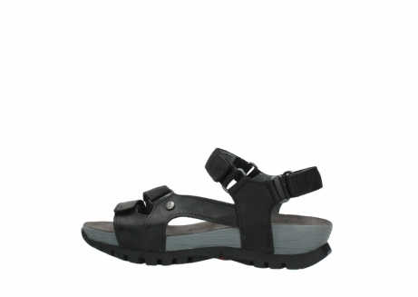 wolky sandalen 05450 cradle 50000 black greased leather_2