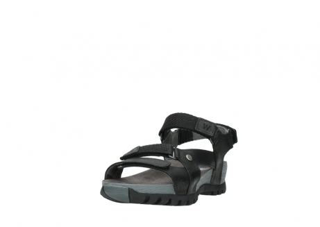 wolky sandalen 05450 cradle 50000 black greased leather_21