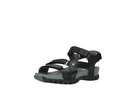 wolky sandalen 05450 cradle 50000 black greased leather_22