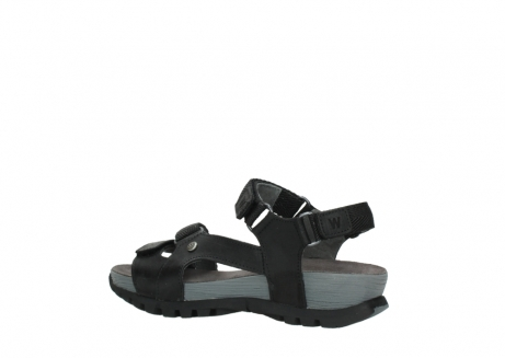 wolky sandalen 05450 cradle 50000 black greased leather_3