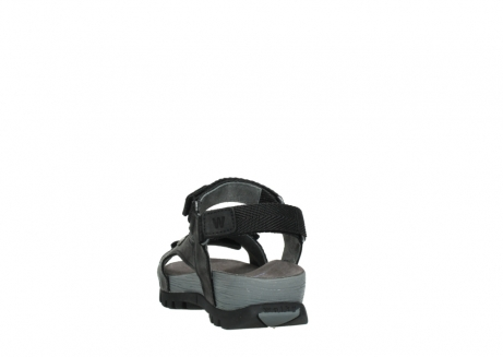 wolky sandalen 05450 cradle 50000 black greased leather_6