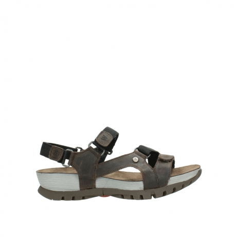 wolky sandalen 05450 cradle 50300 brown greased leather