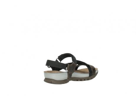 wolky sandalen 05450 cradle 50300 brown greased leather_10