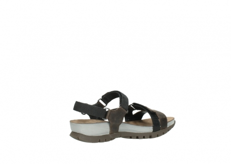 wolky sandalen 05450 cradle 50300 brown greased leather_11