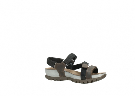 wolky sandalen 05450 cradle 50300 brown greased leather_15