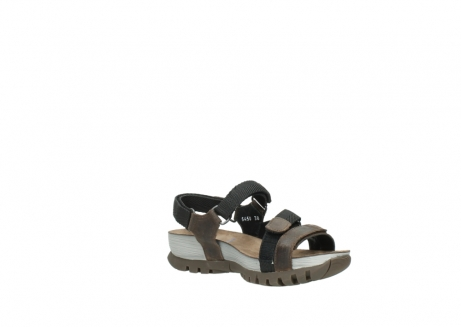 wolky sandalen 05450 cradle 50300 brown greased leather_16