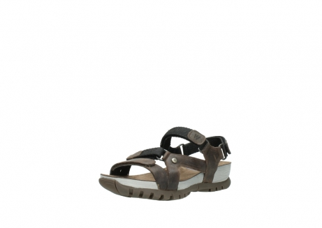 wolky sandalen 05450 cradle 50300 brown greased leather_22