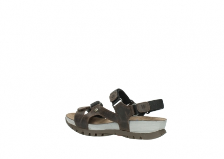 wolky sandalen 05450 cradle 50300 brown greased leather_3