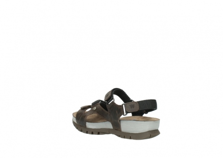 wolky sandalen 05450 cradle 50300 brown greased leather_4