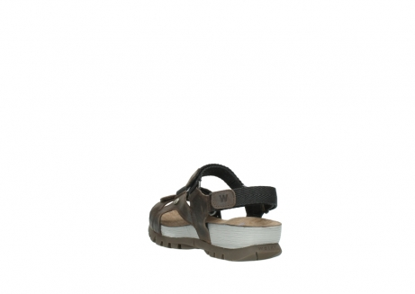 wolky sandalen 05450 cradle 50300 brown greased leather_5
