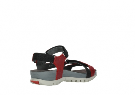 wolky sandalen 05450 cradle 50500 red greased leather_10