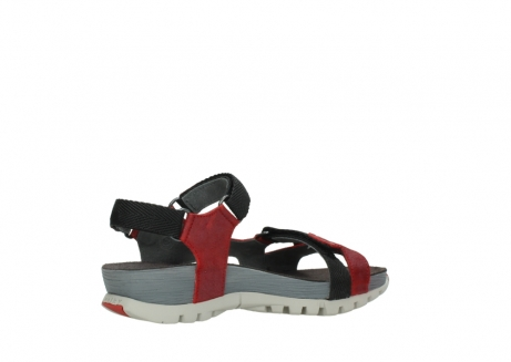 wolky sandalen 05450 cradle 50500 red greased leather_11