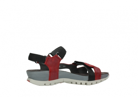 wolky sandalen 05450 cradle 50500 red greased leather_12