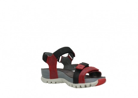 wolky sandalen 05450 cradle 50500 red greased leather_16