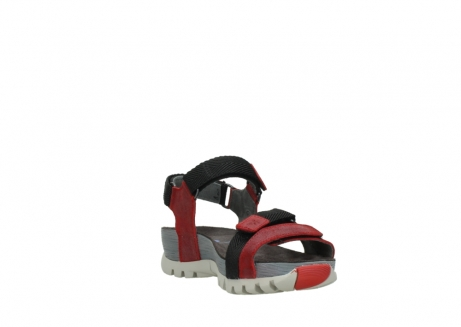 wolky sandalen 05450 cradle 50500 red greased leather_17