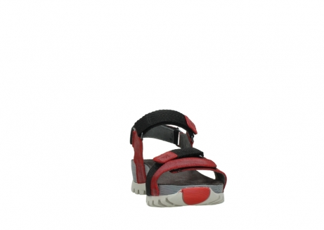 wolky sandalen 05450 cradle 50500 red greased leather_18