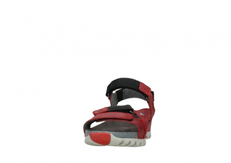 wolky sandalen 05450 cradle 50500 red greased leather_20