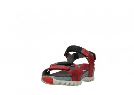 wolky sandalen 05450 cradle 50500 red greased leather_21