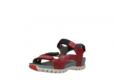 wolky sandalen 05450 cradle 50500 red greased leather_22