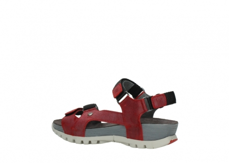 wolky sandalen 05450 cradle 50500 red greased leather_3