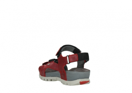 wolky sandalen 05450 cradle 50500 red greased leather_5