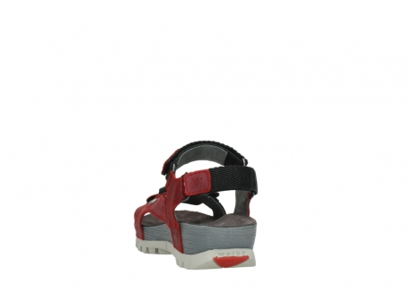 wolky sandalen 05450 cradle 50500 red greased leather_6