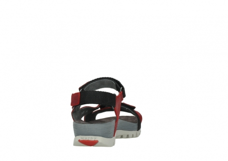 wolky sandalen 05450 cradle 50500 red greased leather_8