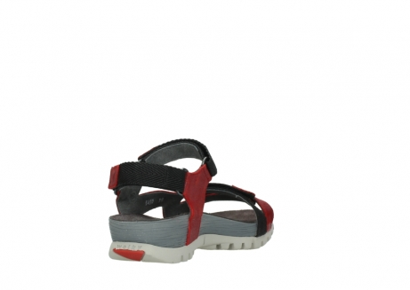 wolky sandalen 05450 cradle 50500 red greased leather_9